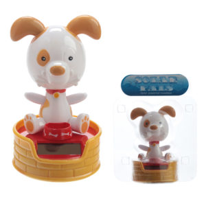 Collectable Dog with Bowl Solar Powered Pal