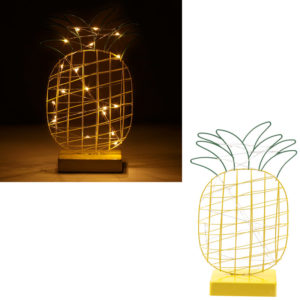Decorative LED Light - Wire Pineapple