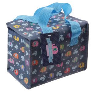 Fun Elephants Design Lunch Box Cool Bag