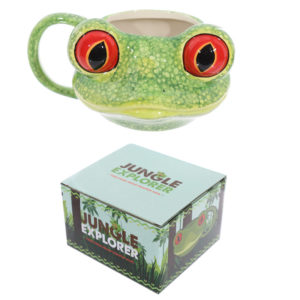 Novelty Tree Frog Shaped Ceramic Mug