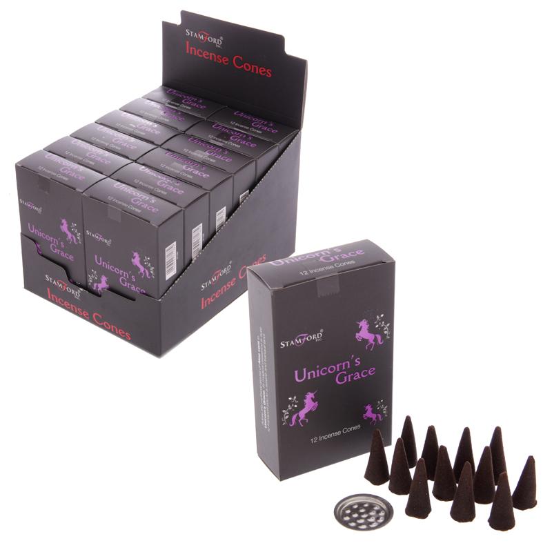 Stamford Black Incense Cones – Unicorns Grace