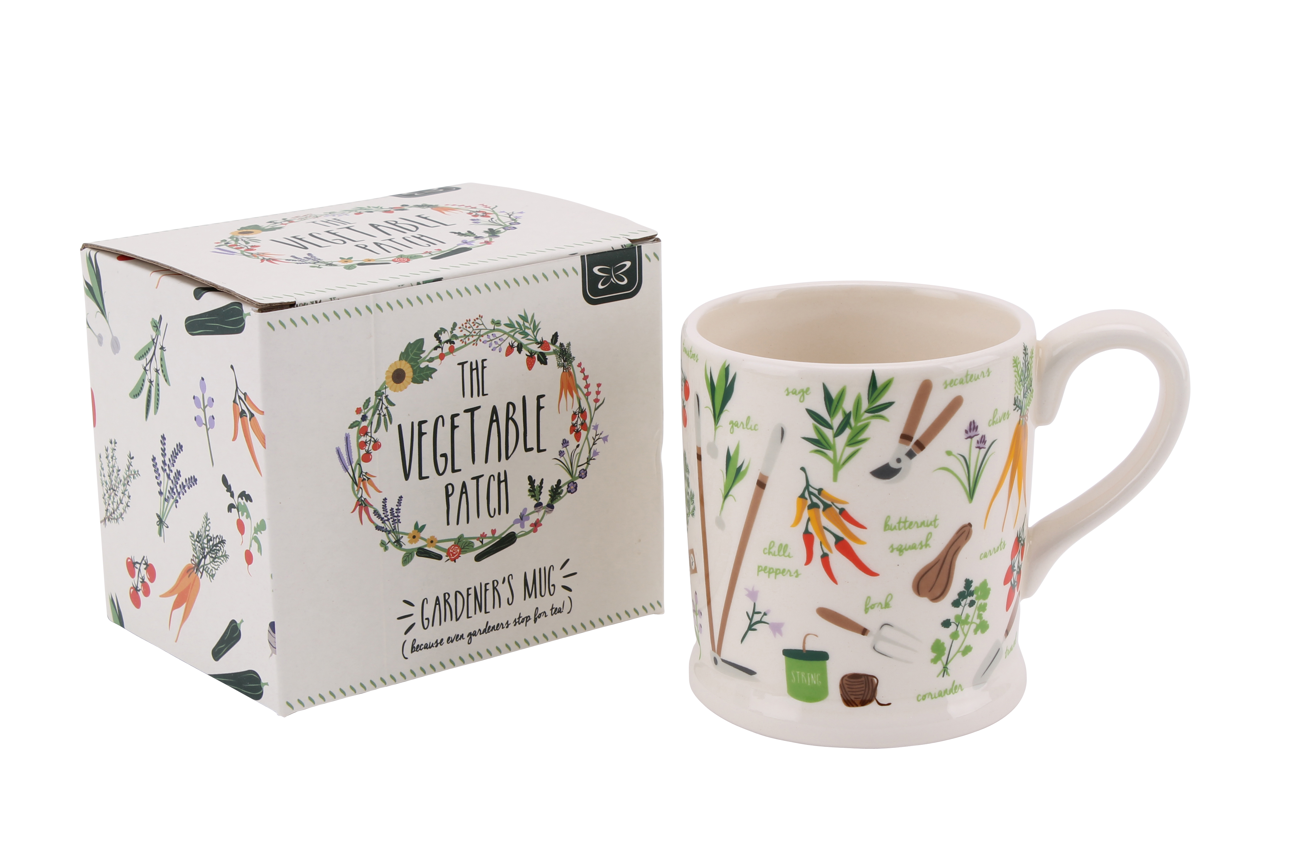 The Vegetable Garden Patch Mug and Box