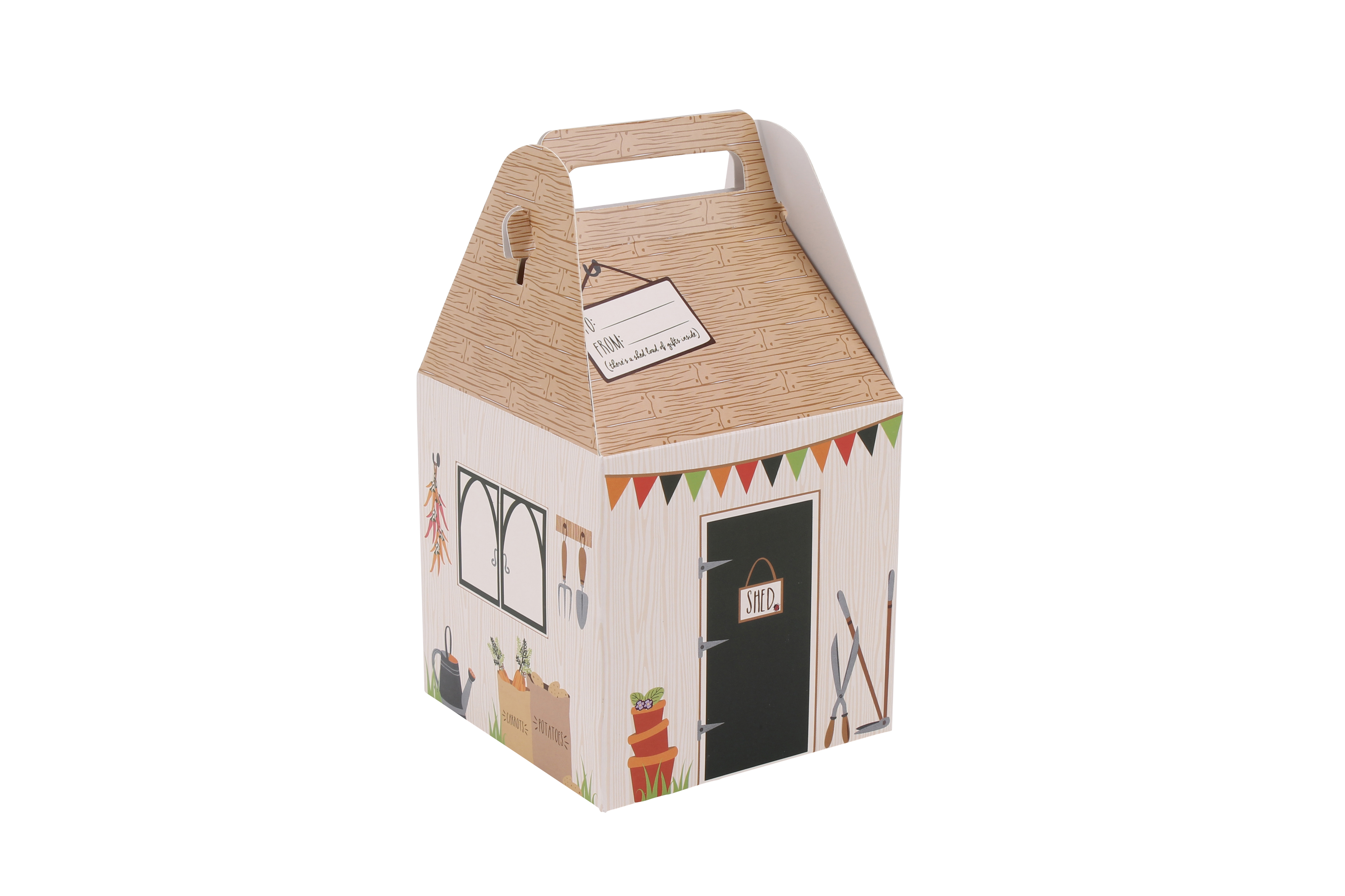 Vegetable Patch 'Shed Full Of Gifts' Small Gift Box