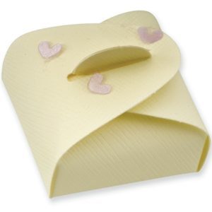 Ivory Silk Mini Astucci Box (47x47x17mm)Ivory Silk Mini Astucci Box