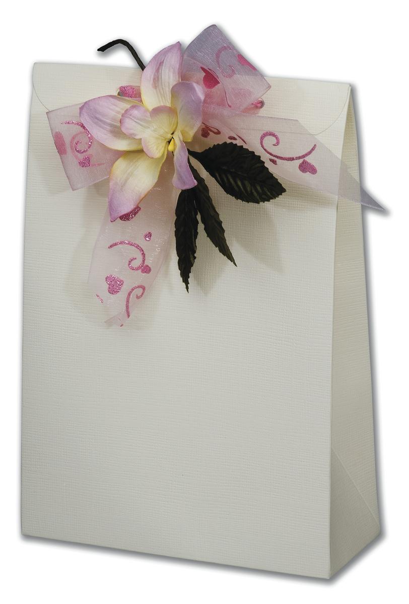 Ivory Silk Sachet Box (160x65x230mm)
