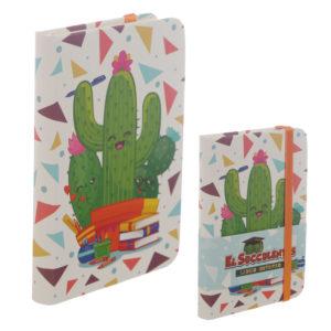 Collectable Hardback Notebook - Cactus Design
