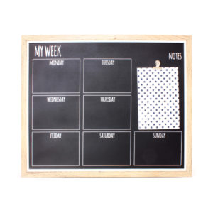 My Week BlackboardMy Week Blackboard
