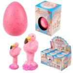 Fun Kids Large Hatching Flamingo Egg