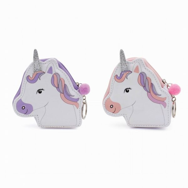 Assortment of 2 Unicorn Purse Keyring