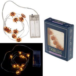 Decorative LED Light String - Halloween Pumpkins