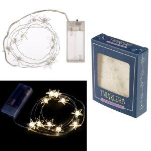 Decorative LED Light String - Stars