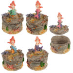 Fun Collectable Mini Mermaid Trinket Jewellery Box