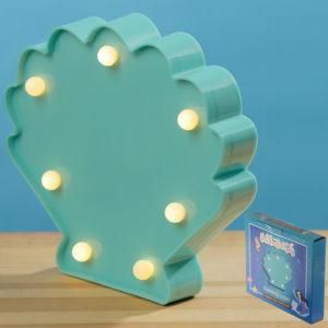 LED Light Decoration - White Clam Shell