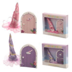 Cute Collectable Unicorn Gift - Magical Unicorn Door  and  Horn