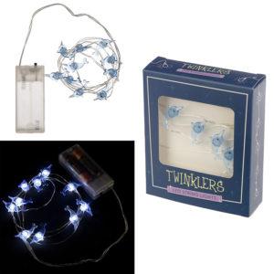 Decorative LED Light String - Blue Narwhal