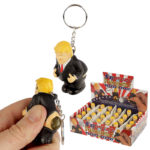 Fun Squeezy President Keyring