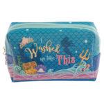 Handy PVC Make Up Toilette Wash Bag - Mermaid Slogan
