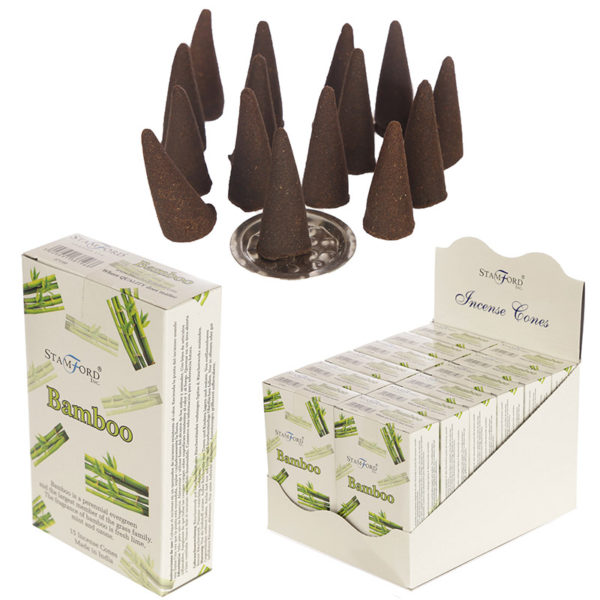 Stamford Hex Incense Cones – Bamboo