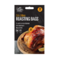 Roasting Bags - 10 PackThis pack of Roasting Bags contains ten individual bags that can be used in both ovens and microwaves.   Each bag measures 25cm x 38cm and cooks meat evenly while sealing in juices for a tasty result every time.