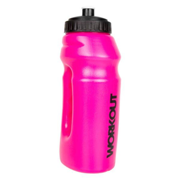 Hot Pink Running Sports Bottle 695ml