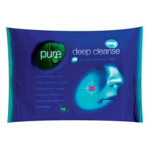 Pure Deep Cleanse Facial Wipes - 25 PackPure Deep Cleanse Facial Wipes - 25 Pack