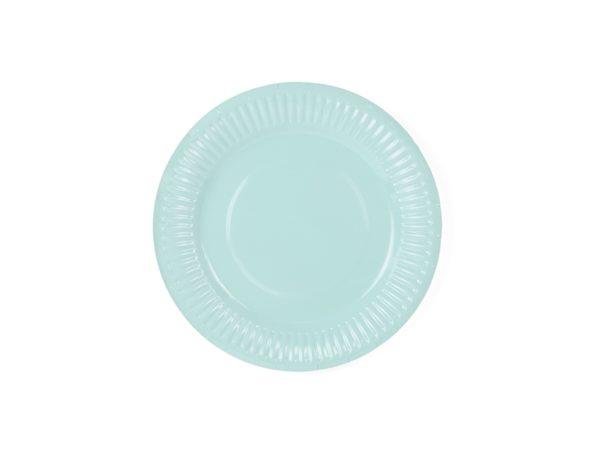 Aloha Plates, turquoise, 18 cm (1 pkt