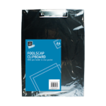 Black A4 Foolscap Clipboard