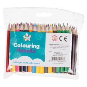 Mini Pencil Crayons - 48 PackMini Pencil Crayons - 48 Pack