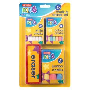 Chalk & Eraser SetChalk & Eraser Set