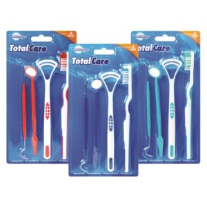 Assortment of 3 Dental Care Kit - 4 PieceAssortment of 3 Dental Care Kit - 4 Piece