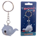 Fun Collectable Narwhal Keyring