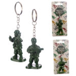 Fun Collectable Toy Soldier Keyring