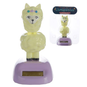 Collectable Llama Solar Powered Pal