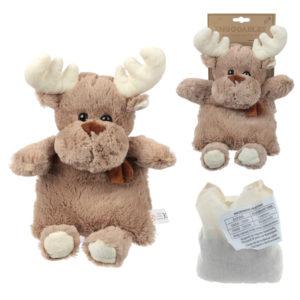 Cute Christmas Reindeer Design Snuggables Microwavable Warmer