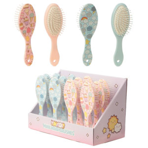 Fun Kawaii Ice Cream Design Handy Hair Brush