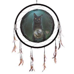 Decorative Cat Design Rise of the Witches 60cm Dreamcatcher