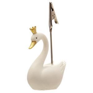 Collectable Swan Princess Postcard and Memo Clip