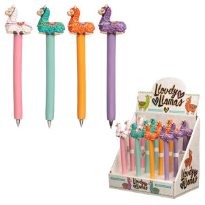 Cute Llama Novelty Pen