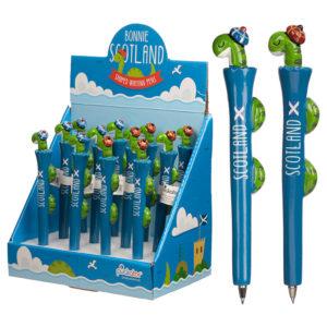 Fun Nessie Scottish Novelty Pen
