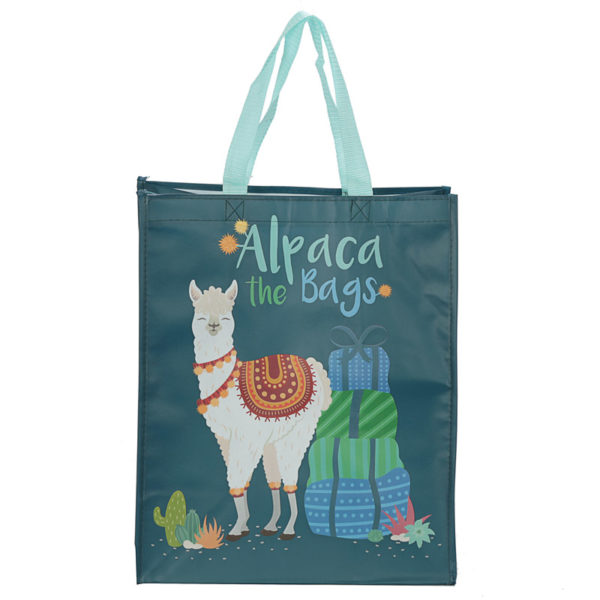 Alpaca the Bags Design Reusable Shopping Bag