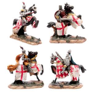 Battle Ready Novelty Knight Riding Horse