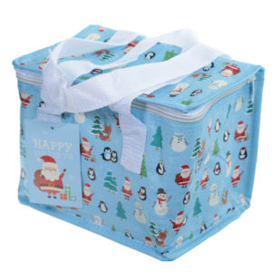 Christmas Characters Design Lunch Box Cool Bag