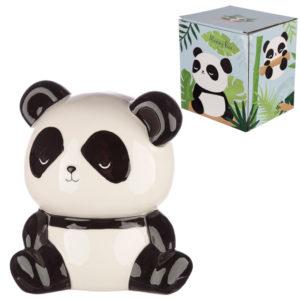 Collectable Ceramic Panda Shaped Money Box