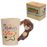 Collectable Shaped Handle Mug -  Monkey