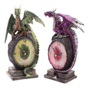 Crystal Geode Dark Legends Dragon Clock