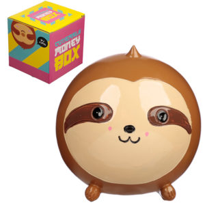 Cute Collectable Sloth Money Box