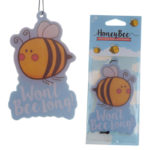 Cute Honey Bee Design Honey Scented Air Freshener