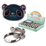 Cute Kids Panda Mood Rings