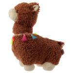 Cute Llama Plush Brown Llama Door Stop