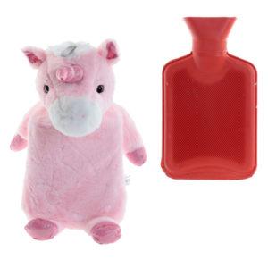 Cute Unicorn Design 1L Hot Water Bottle